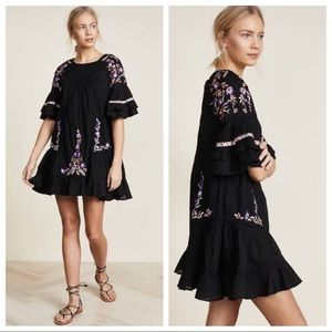 🖤🌺Free People Pavlo Mini Dress🌺🖤